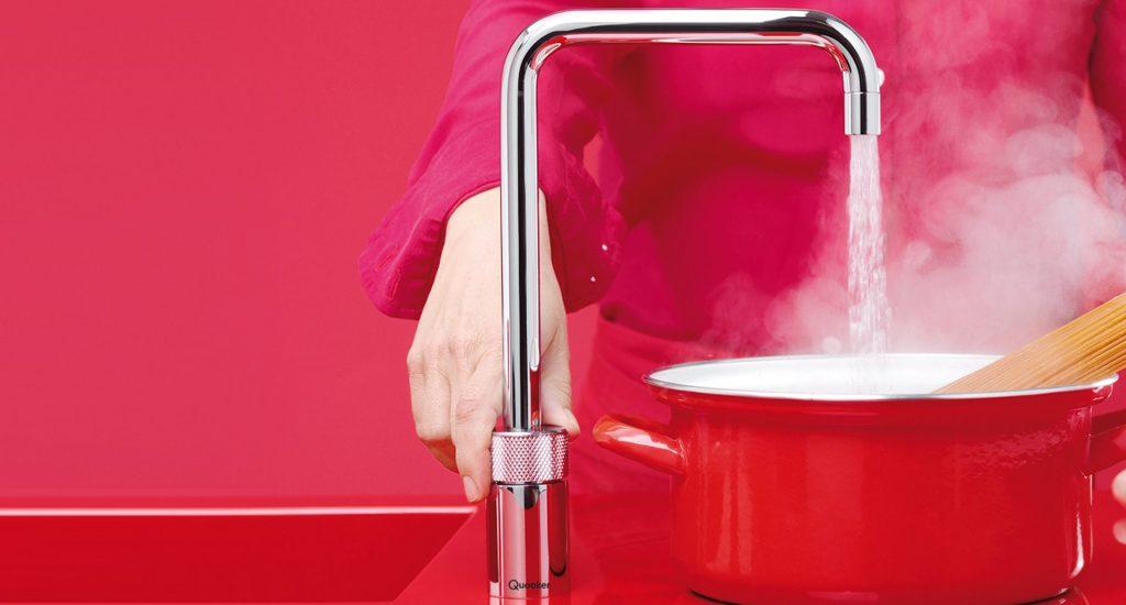 kitchen boiling water taps, red kitchen ideas, cooking kitchen, modern kitchen ideas, kent kitchen showroom