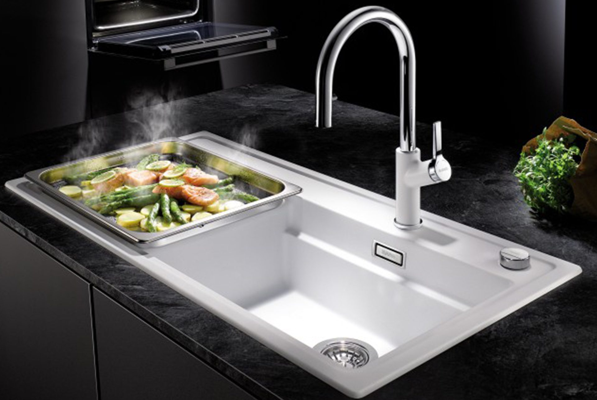 choosing the right sink for your kitchen the sink buying guide. Black Bedroom Furniture Sets. Home Design Ideas