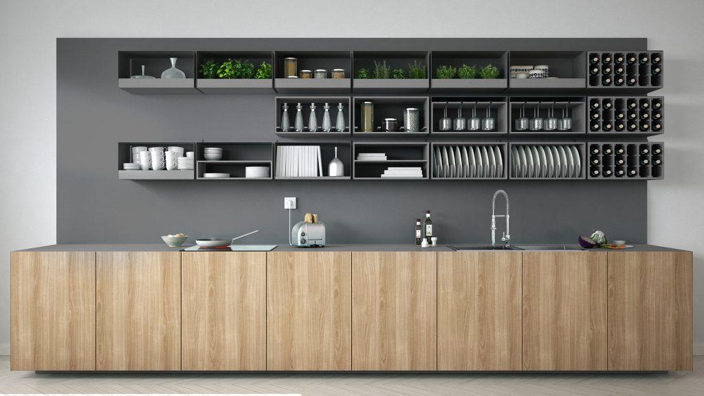 grey and wooden kitchen, modern kitchen ideas, invest in kitchen tips, kitchen showroom kent