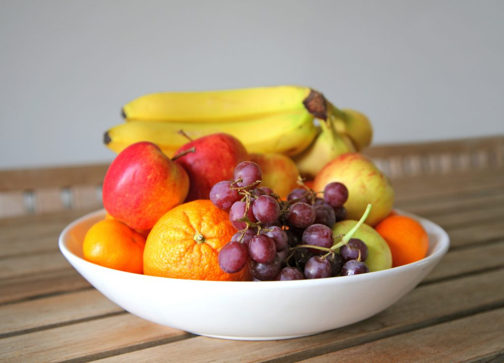 colorful fruit bowl, kitchen healthy tips, kitchen showroom kent